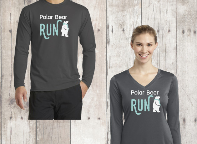 2016 Polar Bear Run Race Shirt