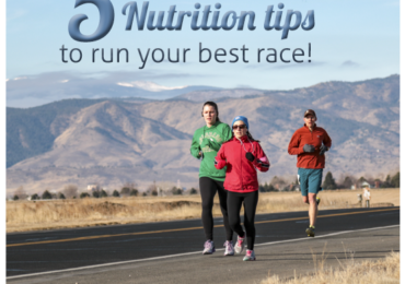 5 Nutrition tips to run your best race